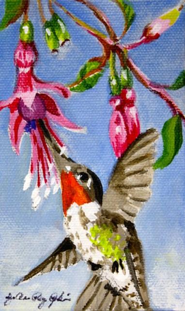 """Joy"" original fine art by JoAnne Perez Robinson"