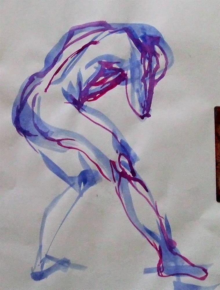 """""""C20Jan"""" original fine art by Mitsuru Cope"""