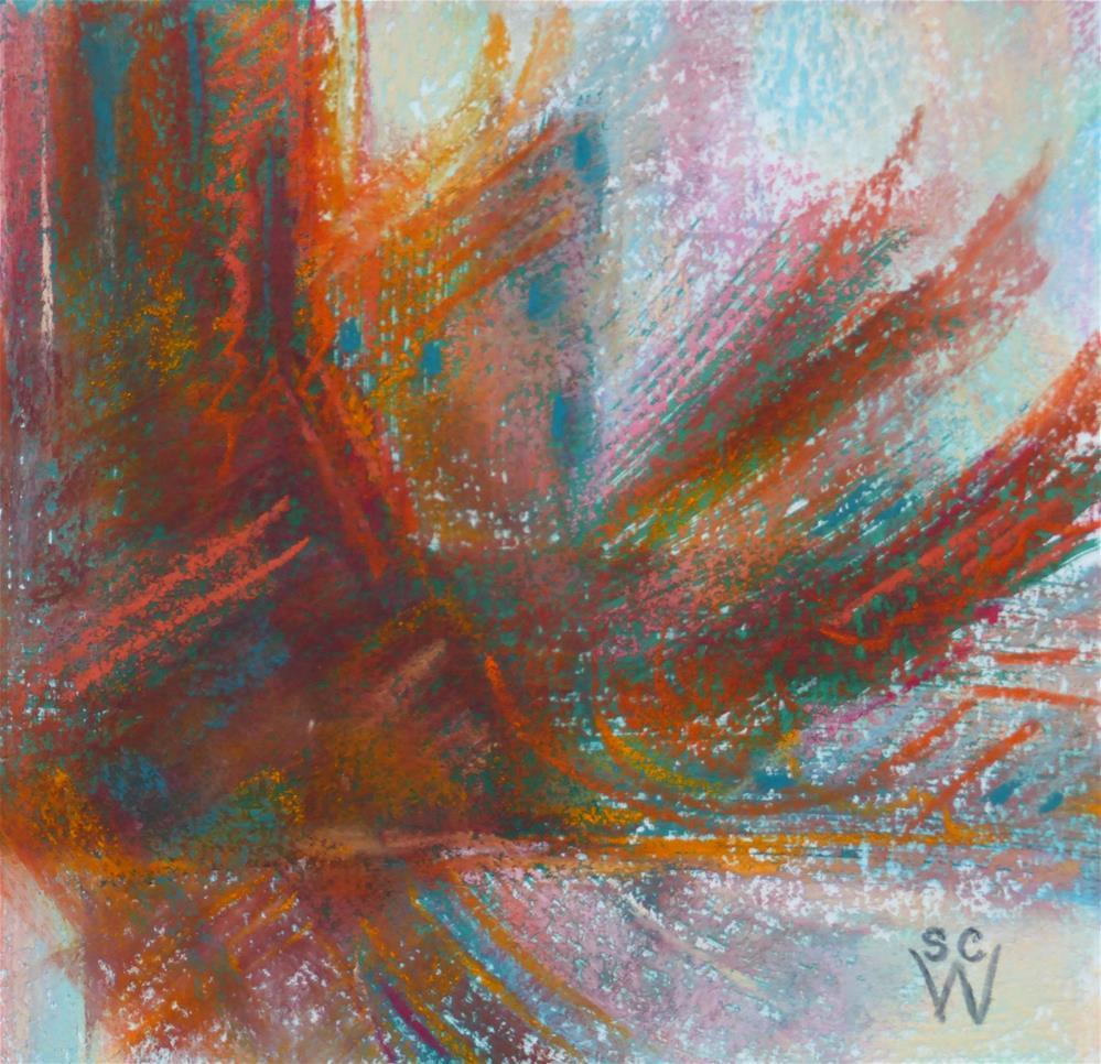 """Native Dancer"" original fine art by Susan Woodward"