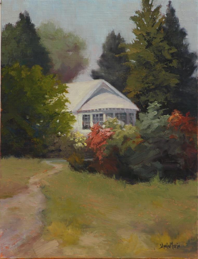"""""""Tea Lights"""" original fine art by Sheila Marie"""