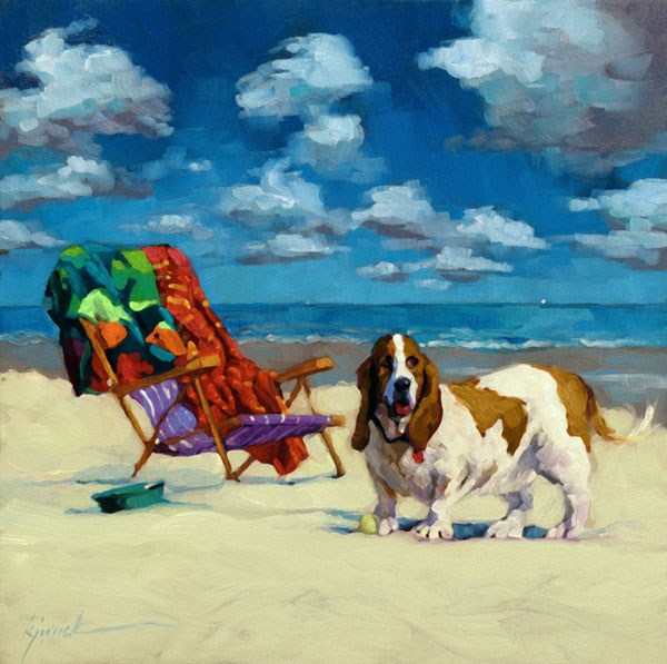 """Oh the Good Life"" original fine art by Karin Jurick"