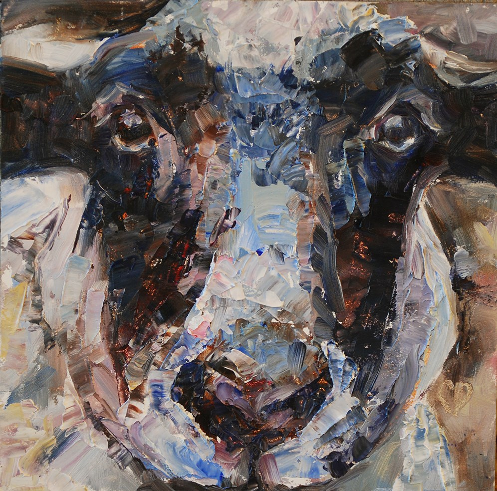 """Baah!"" original fine art by Carol DeMumbrum"