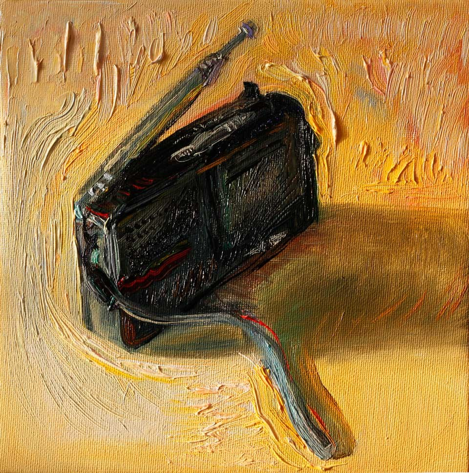 """Old Radio"" original fine art by Anna  Fine Art"