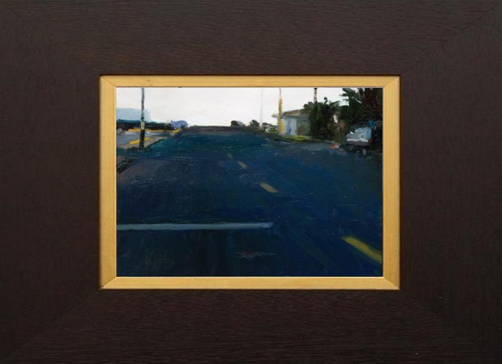 """Linden Drive, Framed"" original fine art by Randall Cogburn"