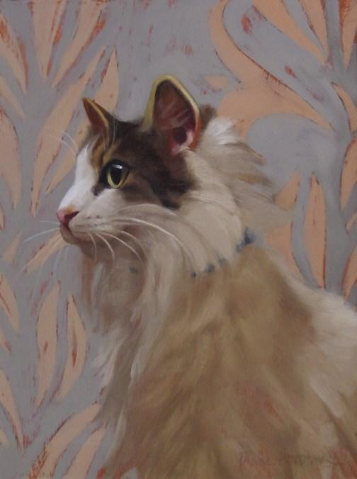 """""""Florence II"""" original fine art by Diane Hoeptner"""