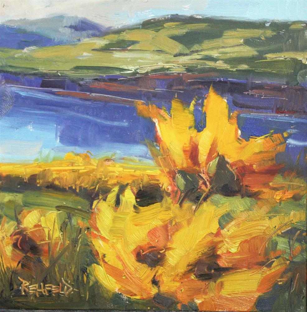 """Spring Balsamroot"" original fine art by Cathleen Rehfeld"