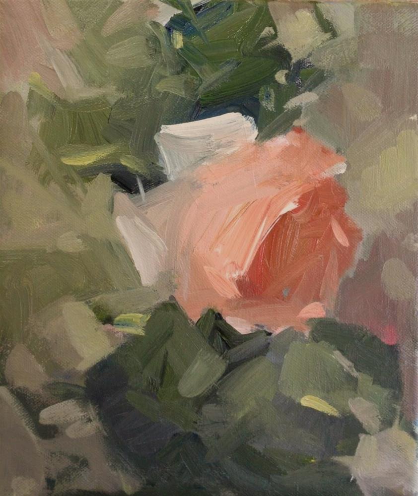 """""""Sweet rose"""" original fine art by Parastoo Ganjei"""