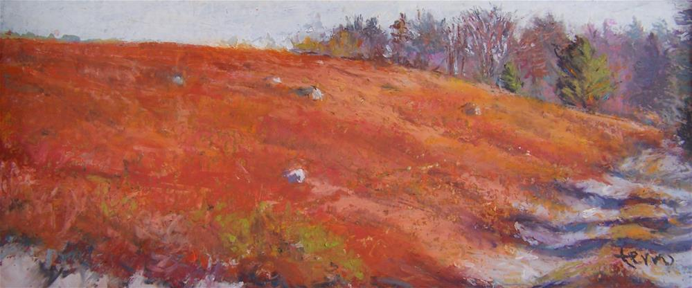 """Fall Walk"" original fine art by Susan Ferro"