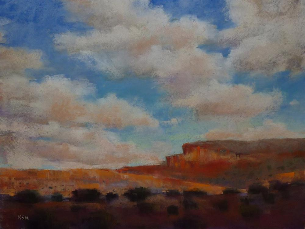 """How the Magic Hour Can Help Your Paintings"" original fine art by Karen Margulis"