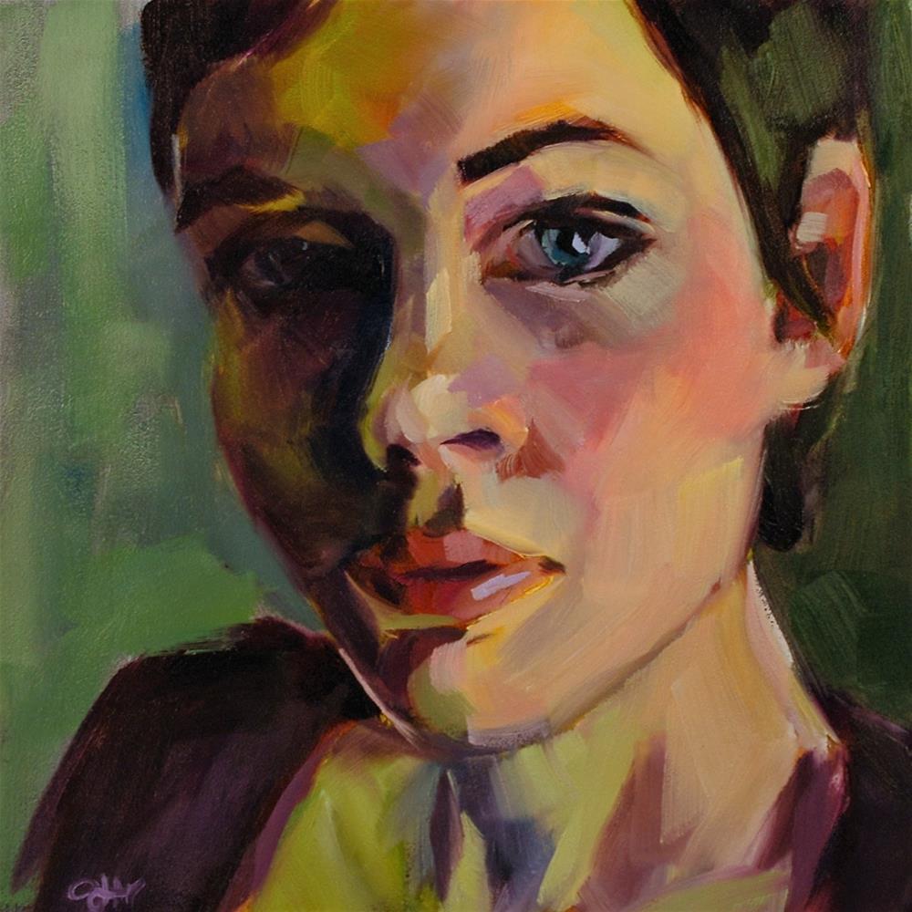 """Ardent"" original fine art by Janette Harter"