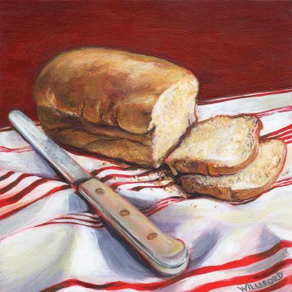 """Daily Bread NFS"" original fine art by Kathleen Williford"