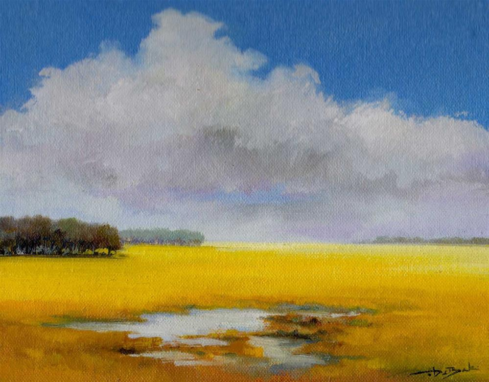 """was rain"" original fine art by V. DeBak"