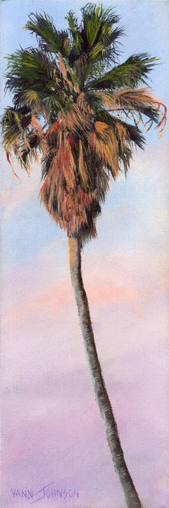 """Radiant Palm 3"" original fine art by Wendi Vann Johnson"