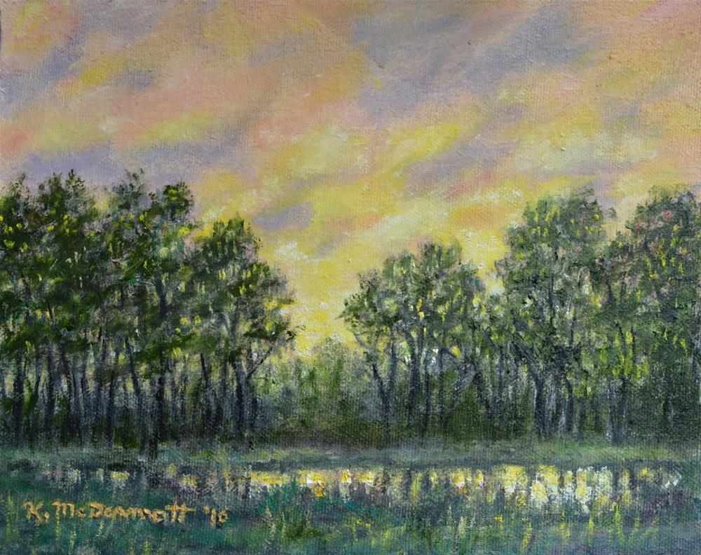 """After the Storm"" original fine art by Kathleen McDermott"
