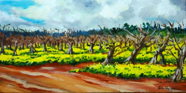 """Spring Carpet"" original fine art by JoAnne Perez Robinson"