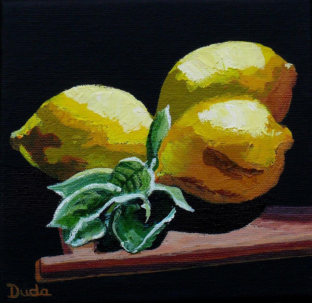 """Fresh Picked"" original fine art by Susan Duda"