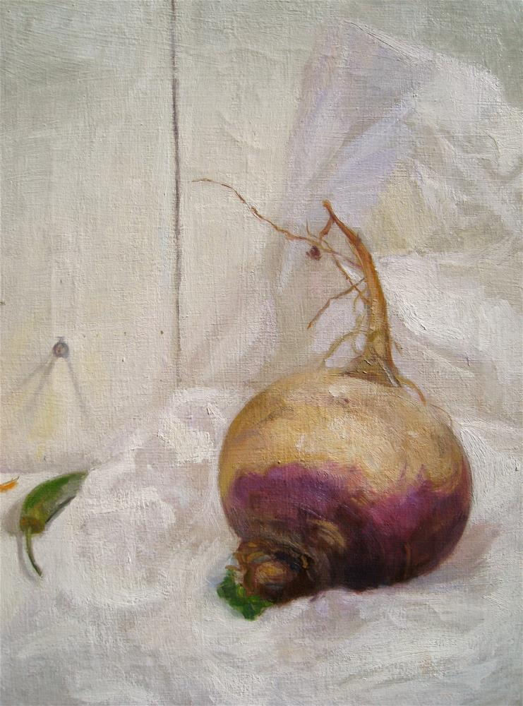 """The Turnip Root"" original fine art by Ann Buenaventura"