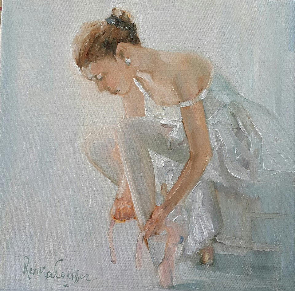 """Recital"" original fine art by Rentia Coetzee"