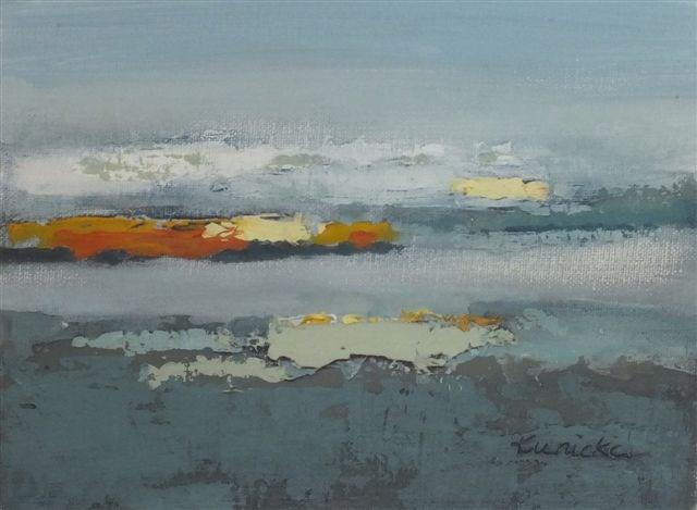 """Landscape 25"" original fine art by Ewa Kunicka"