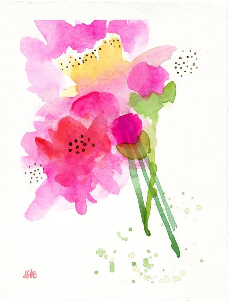 """""""Dotty Days"""" original fine art by Heather Bennett"""