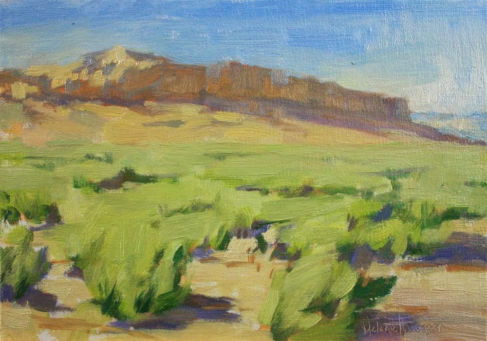 """Valley Wall"" original fine art by Melanie Thompson"