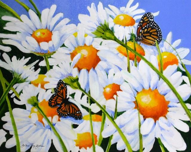 """Daisy"" original fine art by JoAnne Perez Robinson"