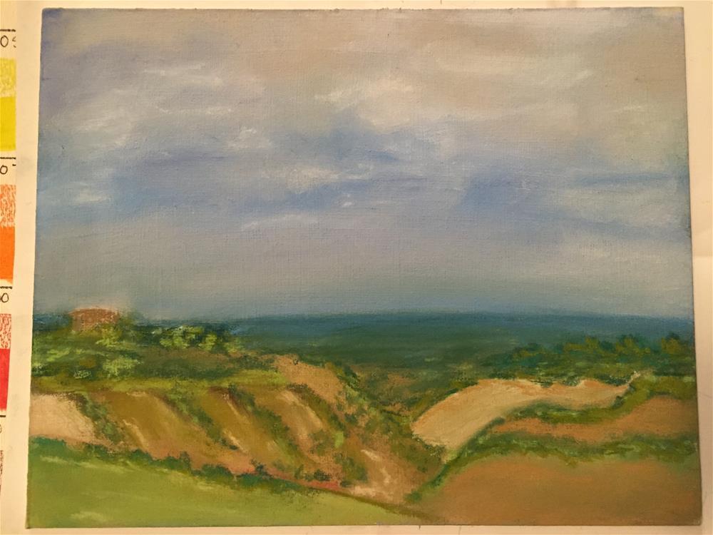 """Tuscany"" original fine art by Julie Ratcliff"
