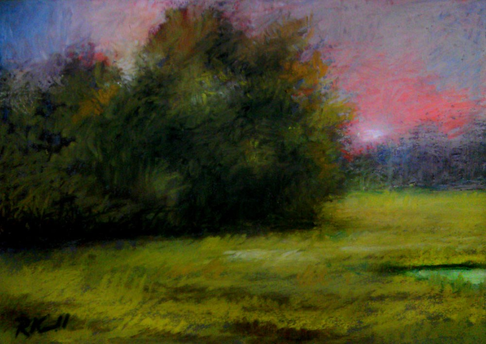 """Morning Light"" original fine art by Bob Kimball"