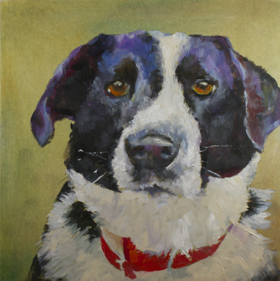 """Pet #2: Gentle Patience"" original fine art by Sue Churchgrant"