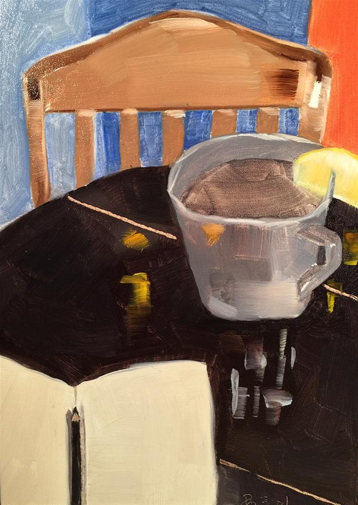 """""""137 Canary"""" original fine art by Jenny Doh"""