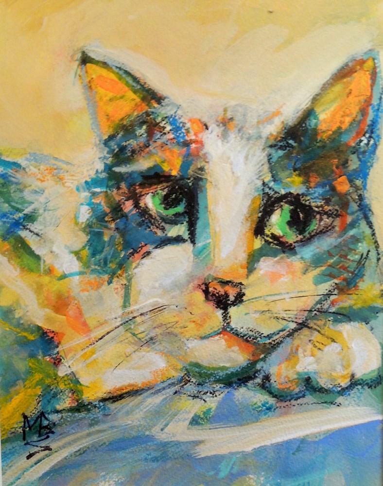 """Wishing"" original fine art by Mary Schiros"