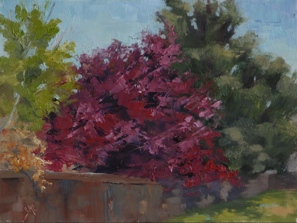 """End of the Cul-de-sac"" original fine art by Sheila Marie"