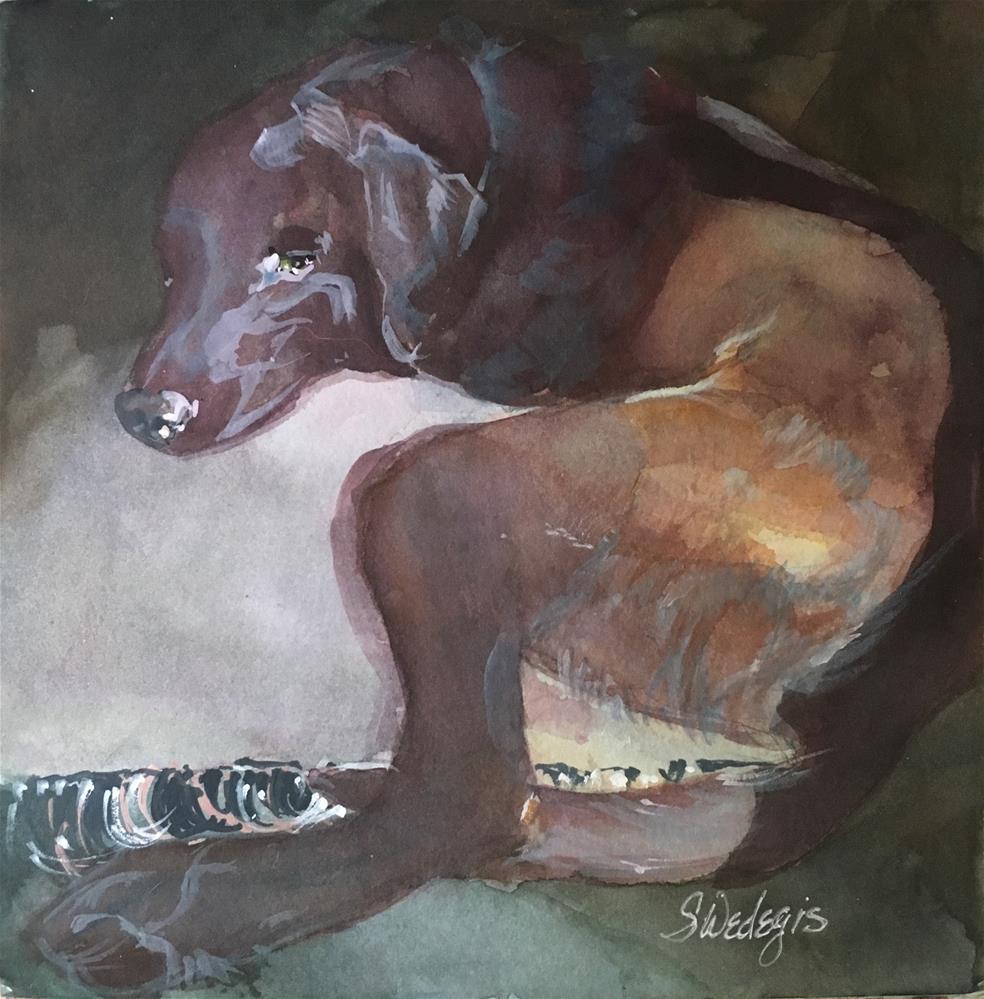 """After The Storm"" original fine art by Sheila Wedegis"