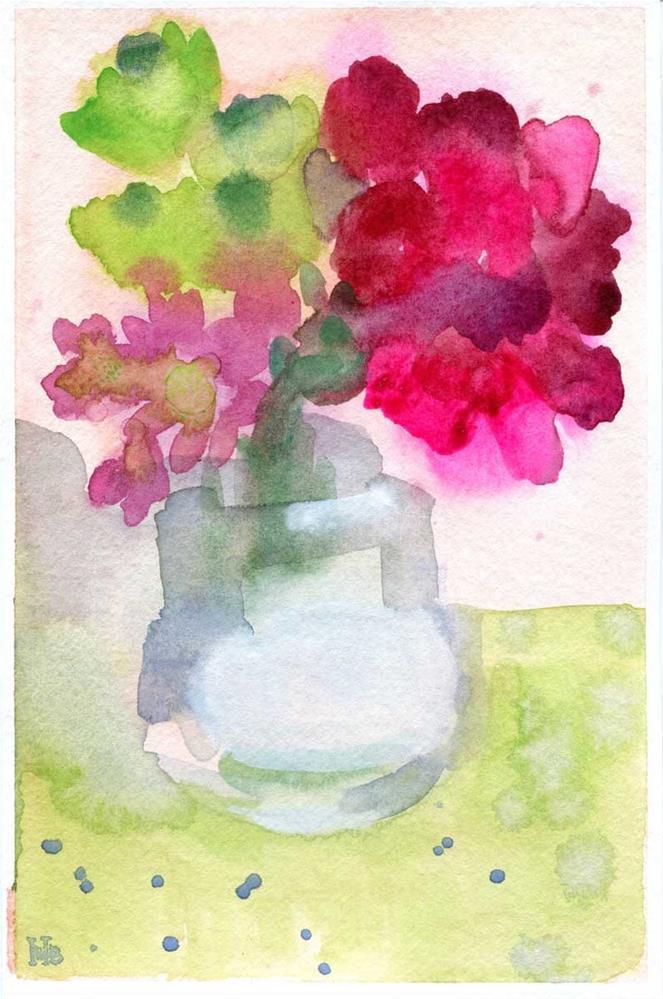 """Home Again"" original fine art by Heather Bennett"