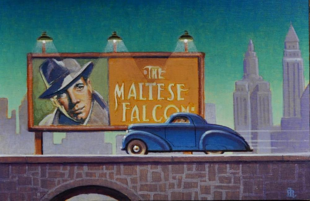 """The Big Sleep"" original fine art by Robert LaDuke"