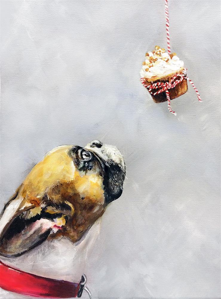 """Sweet Temptation"" original fine art by Sunny Avocado"