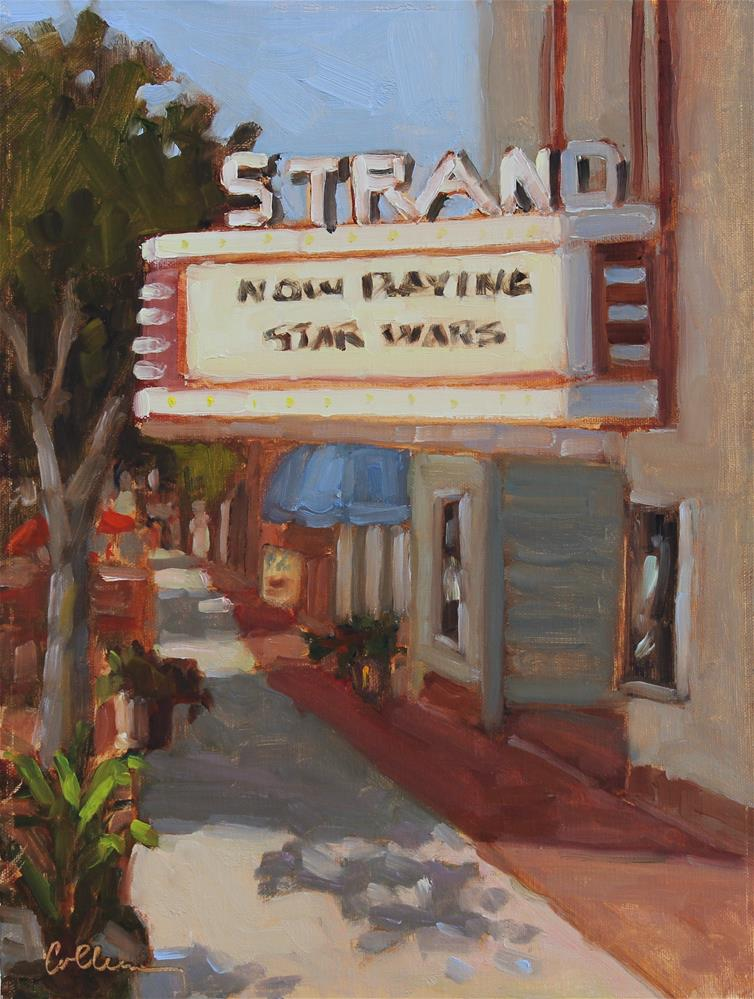 """The Strand"" original fine art by Colleen Parker"