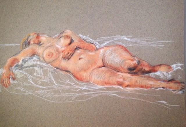 """Life Drawings"" original fine art by Terri Buchholz"