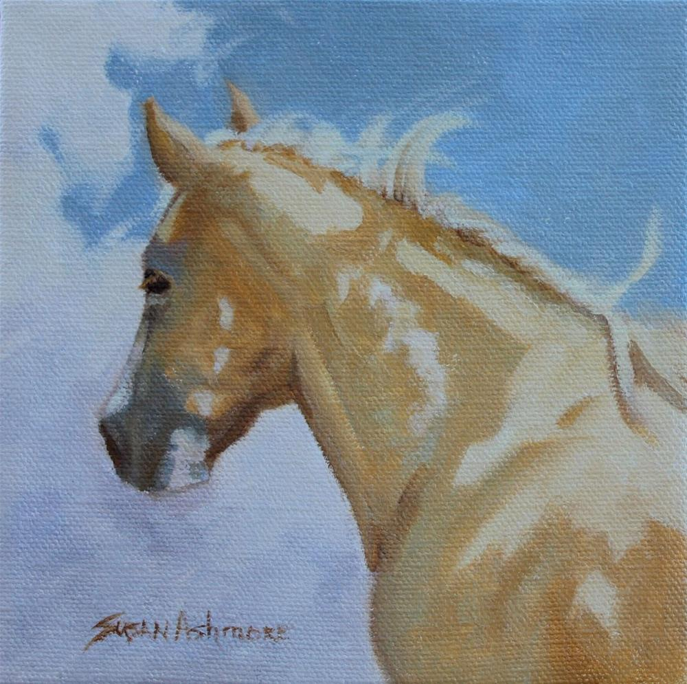 """Distance"" original fine art by Susan Ashmore"