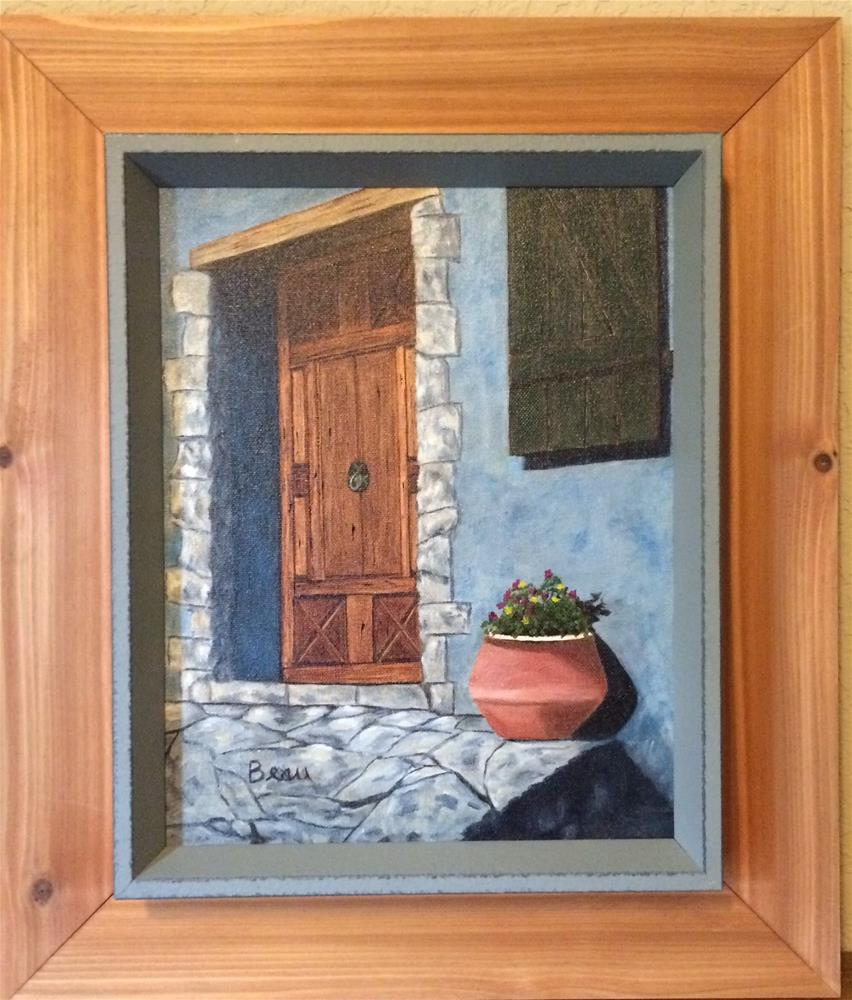 """French door"" original fine art by Beau Crump"