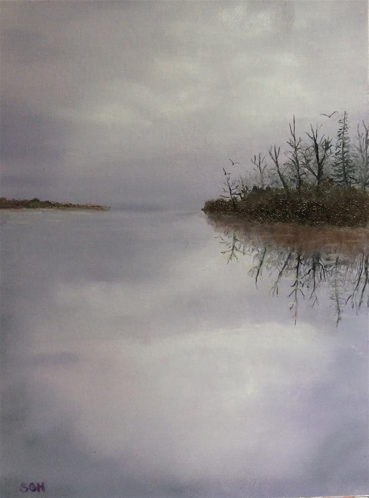 """Serenity"" original fine art by Susan Hoffheimer"
