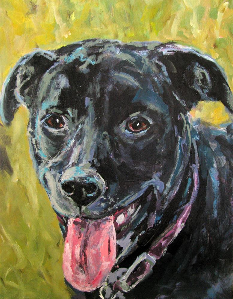 """Lily Belle"" original fine art by Susan Elizabeth Jones"