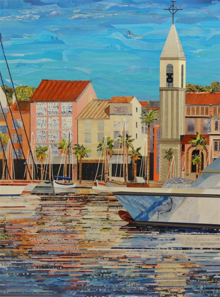 """Toujours Toulon"" original fine art by Cynthia Frigon"