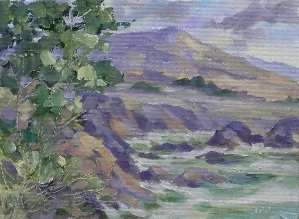 """Pacific coast"" original fine art by Jean Pierre DeBernay"