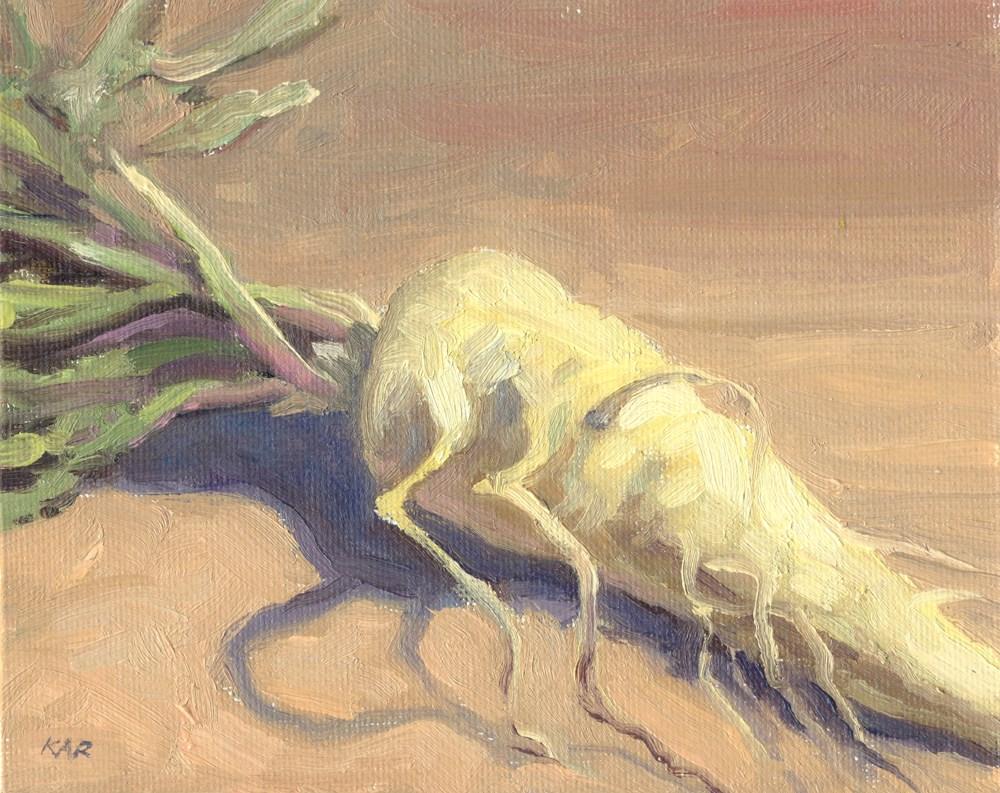 """""""Parsnip"""" original fine art by Kath Reilly"""