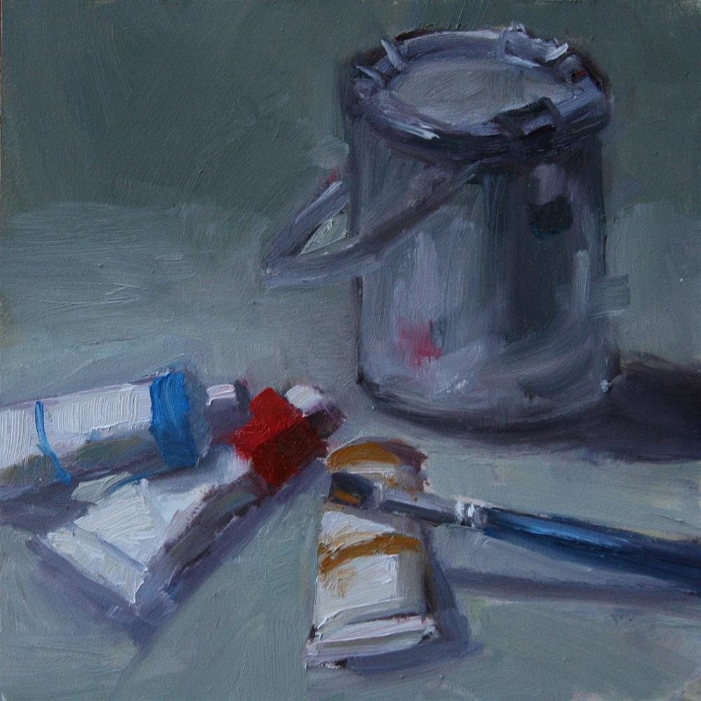 """Zorn Palette #2"" original fine art by Carol Josefiak"
