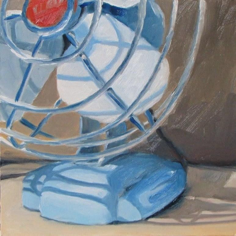 """Zero Fan"" original fine art by Nora Bergman"