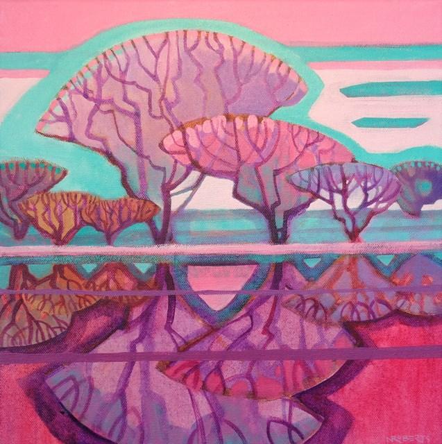 """Ode to Joy"" original fine art by Nancy Roberts"