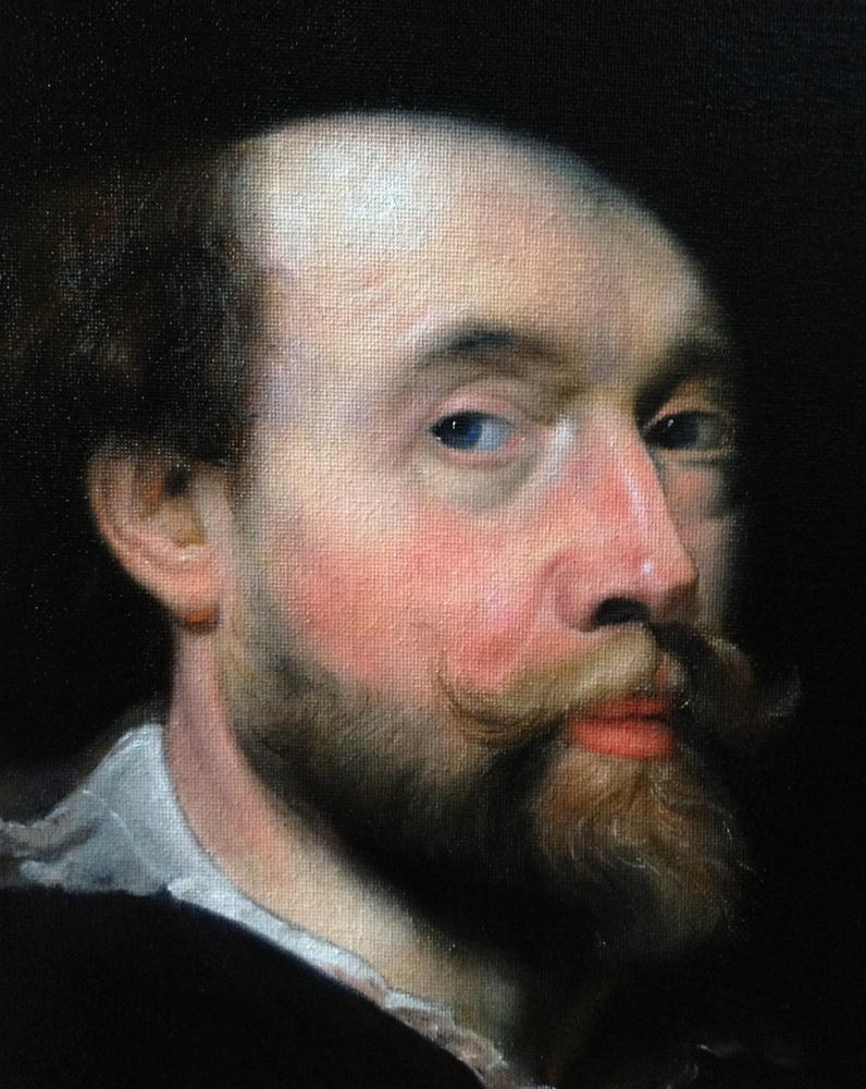 """Peter Paul Rubens"" original fine art by Jonathan Aller"