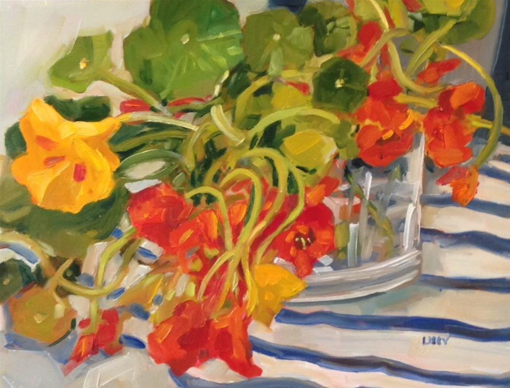"""Table Favorites"" original fine art by Libby Anderson"